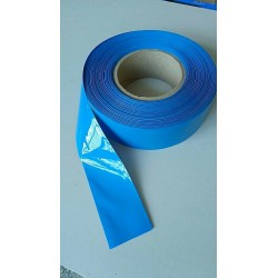 150/180/200mm PVC Heat Shrink Tubing Electronic Insulation Materials Blue For Lipo Battery 50CM