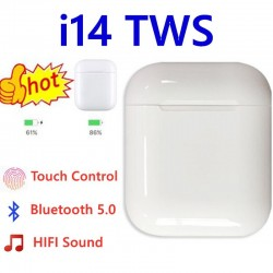 i14 TWS original i 14 tws true wireless headphone earphone 1:1 ear buds bluetooth headset airpots