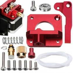 Upgraded MK8 Extruder Aluminum Drive Feed Replacement 3D Printer Extruders