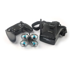 Eachine Novice-I 75mm 1-2S Whoop FPV Racing Drone RTF w/ WT8 2.4G Transmitter 5.8Ghz 48CH VR005 Goggles