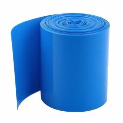 67mm PVC Heat Shrink Tubing Wrap BLUE (30cm)