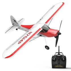 Volantex Sport Cub 500 761-4 500mm Wingspan 4CH One-Key Aerobatic Beginner Trainer RC Glider Airplane RTF Built In 6-Axis Gyro