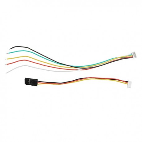 Frsky 5P 5 Pin Receiver Connection Cable Wire for R-XSR 2.4G 16CH SBUS PPM Receiver