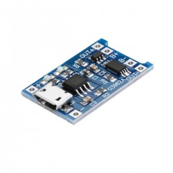 Micro USB TP4056 Charge And Discharge Protection Module Over Current Over Voltage Protection 18650