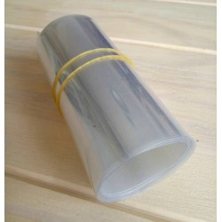 50CM Transparent Heat Shrink Lipo Battery Casing PVC Heat Shrinkable Tube Model Accessories Battery Films 40/75/96/135/164mm