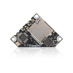 TriangleD 5.8G 40CH 25/100/200/400mW Switchable Triangle AV FPV Transmitter VTX With DVR Support Smart Audio Tramp
