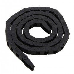 Black CNC Machine Tool 7*7mm Mayitr Plastic Nylon Cable Carrier Drag Chain Nested Wire Carriers Transmission Chains