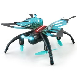 JJRC H42WH WIFI FPV With 0.3MP Camera Voice Control Altitude Hold Mode Butterfly-like RC Drone Quadcopter