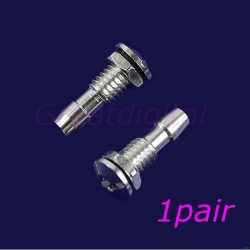 2 Pcs New Aluminum Water Outlets Thread With O-ring Screws For RC Boat M6 Hot