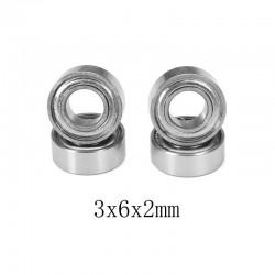 4PCS 3x6x2mm Ball Bearings For WPL JJRC RC Cars RC Truck Parts