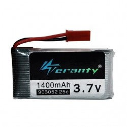 3.7V 1400mAh 25C Lipo Battery