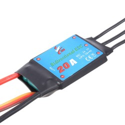 Double Sides Brushless ESC 20A Underwater Thruster RC Car Boat Parts