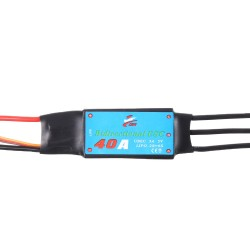 Double Sides Brushless ESC 40A Underwater Thruster RC Car Boat Parts