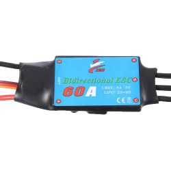 Double Sides Brushless ESC 60A Underwater Thruster RC Car Boat Parts