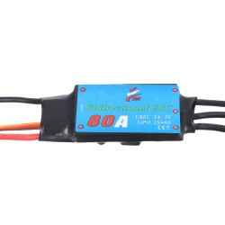 Double Sides Brushless ESC 80A Underwater Thruster RC Car Boat Parts