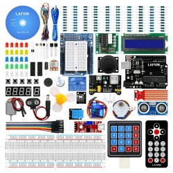 LAFVIN Complete Starter Kit for Arduino for UNO R3 with CD Tutorial
