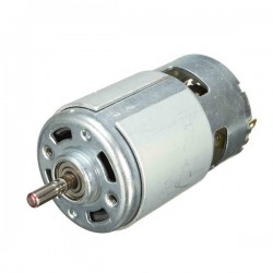 DC 6-30V Motor 775 Gear Motor Large Torque 8300RPM High Power Motor