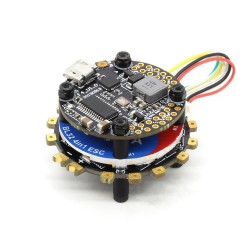 20x20mm Racerstar TaiChi Round Stack F4 OSD 2-6S Flight Controller AIO BEC & 40A BL_32 4in1 ESC for RC Drone