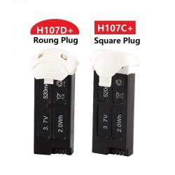 Hubsan battery 3.7V 520mAh LIPO battery 5pcs for Hubsan X4 Camera H107D plus H107D+