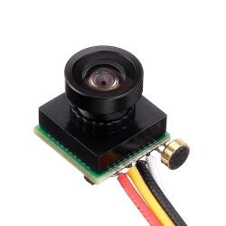 Mini 600TVL 1/4 CMOS 1.8mm Wide Angle Lens Camera Module PAL NTSC 3.7-5V