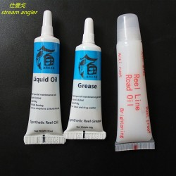 oil grease for fishing wheel bearing lubricant rod maintenance oil 3pcs