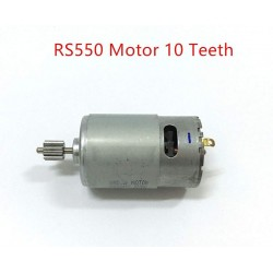 Hign Speed Model Car RS550 Turn Brushed Electric Engine Motor - 35000RPM