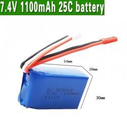 Wltoys A949 A959 A969 A979 K929 LiPo Battery 7.4V 1100mah 903048 25c Lipo Battery