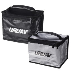 URUAV UR22 Fireproof Waterproof Lipo Battery Safety Bag 220*170*150mm with Partition Board