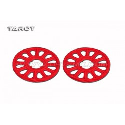 Tarot 500 Pro 134T Slant Thread Main Drive Gear -Red 500 Helicopter Parts TL50178-02