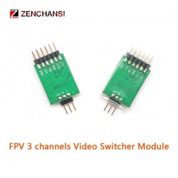 FPV 3 channel Video Switcher Module 3 way Video Switch Unit FPV Camera for Multicopter Drones 5.8G FPV transmitter and camera
