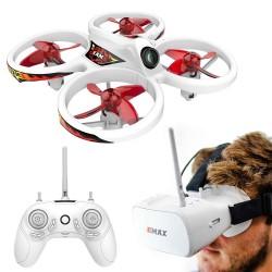 Emax EZ Pilot Beginner Indoor FPV Racing Drone With 600TVL CMOS Camera 37CH 25mW RC Quadcopter RTF