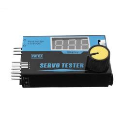 G.T.Power 4CH 4.8V-6V LED Servo Tester for RC Servos