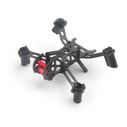 Eachine Vtail QX110 Micro DIY Frame Kit 1.5mm 3K Carbon Fiber 14.4g Support 8520 Coreless Motor