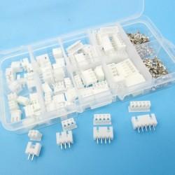 230pcs XH2.54 2p 3p 4p 5 pin 2.54mm Pitch Terminal Kit / Housing / Pin Header Connector