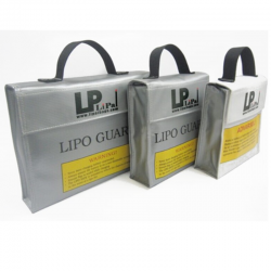 Fireproof Explosion Proof Li-po Battery Safety Protective Bag 155*50*155MM