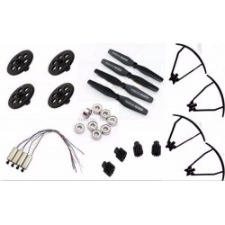 Visuo Xs809hw Xs809w Xs809 Rc Drone Quadrocopter Spare Parts Engines motor blade Main gear Propeller Guard Ring Upgrade Bearing
