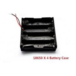4X 18650 Battery Case Holder 3.7V Plastic Battery Storage Box Case Holder