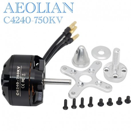 Aeolian C4240 750kv ourtunner brsuhless electric motor for RC