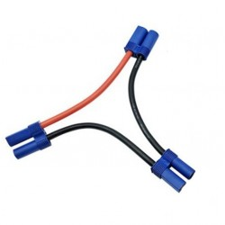 EC5 Series Connection Line Cable Wire For Lipo Battery (1 male 2 female)