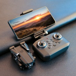 LANSENXI LS-XT6 Mini WiFi FPV with 4K HD Dual Camera Altitude Hold Mode Foldable RC Drone Quadcopter RTF