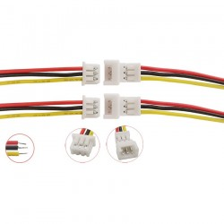 1Pair JST PH 1.25mm 3Pin Male Female Wire Cable Connector Length 15CM JST 1.25MM 3 Pin Micro Jack Plug Wires Cables