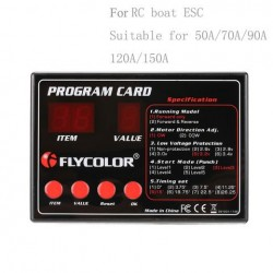 Flycolor ESC Programme Card for RC Boats