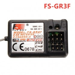Flysky Reciever FS-GR3F 3CH 2.4Ghz Receiver For FS GT2 GT2B GT3 GT3B GT3C T6 CT6B TH9X Transmitter Parts