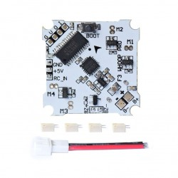 Whoop pro F3 + OSD Brushed Flight Control Board For mini Tiny Drone Quadcopter Inductrix E010 E010S 615 716 8520