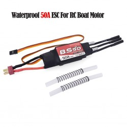 Surpass Waterproof 50A 2-6S Brushless ESC With 5.5V/5A BEC