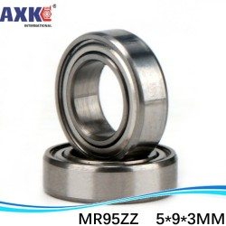 2PCS MR95ZZ 5X9X3mm Deep groove Ball Bearings