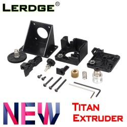 LERDGE 3D printer parts titan Extruder for e3d v6 bowden J-head Mounting Bracket 1.75mm Filament V6 Hotend