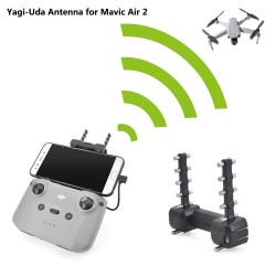 Drone Accessories Signal Expand Enhancement Antenna For DJI Mavic Air 2 Controller Signal Booster Range Expanded