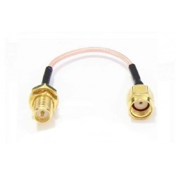 120mm Low Loss Antenna Extension Cord Wire Fixed Base RP-SMA For RC Drone