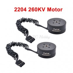 2204 260KV Brushless Gimbal Motor For 2 Axis / 3 Axis Gimbal Gopro CNC Digital Camera FPV